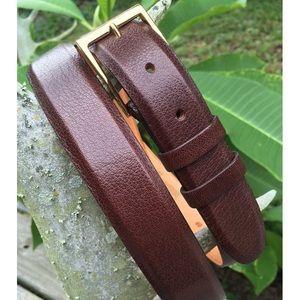 Men's Wehmeier's Genuine Buffalo Belt